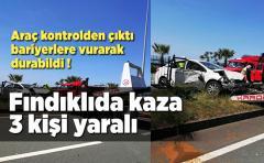 Fındıklı'da trafik kazası meydana geldi 3 Yaralı var