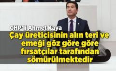 """CHP'li Ahmet Kaya; """"Allah'ın Verdiği Ota Kota Mı Olur?""""tepkisi"""