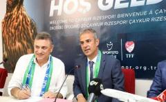 Çaykur Rizespor'da İsmail Kartal Dönemi Başladı
