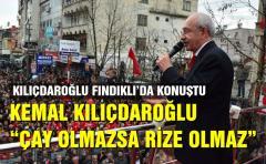 Kemal Kılıçdaroğlu Fındıklı'da konuştu