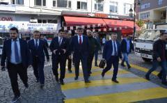 TBB Başkanı Feyzioğlu, Rize'de Esnaf Ziyaretlerinde