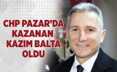 CHP Pazar'da Kazanan Kazım Balta Oldu