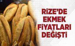 Rize'de Ekmeğin Yeni Fiyatı ve Gramajı Belli Oldu