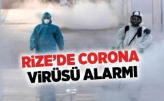 Rize'de Corona Virüsü Alarmı !