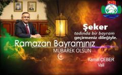 Rize Valisi Kemal Çeber Bayram mesajı yayımladı
