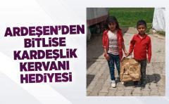 Ardeşen'den Bitlis'e 'Kardeşlik Kervanı' Hediyesi