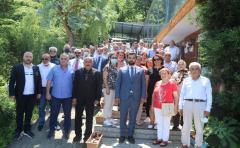 Hacısüleymanoğlu'na Fındıklı'da Sevgi Seli