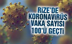 Rize'de Kovid-19'dan Ölü Sayısı 14'e Yükseldi, Vaka Sayısı 100'ü Geçti