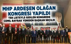 MHP Ardeşen 13.Olağan kongresi yapıldı