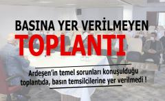 Ardeşen'in Sorunları Tartışıldı..Gazete temsilcileri ''BİHABER''