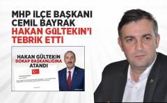 Cemil Bayrak, Hakan Gültekin'i Tebrik Etti.