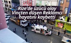 Rize'de feci kaza vinçten düşen reklamcı hayatını kaybetti