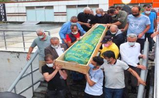 Ani Ölümü ile Ardeşeni yasa boğan Murtaza Özyanık son yolculuğuna uğurlandı
